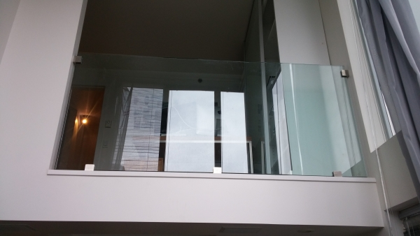 Interior Frameless Glass Railings