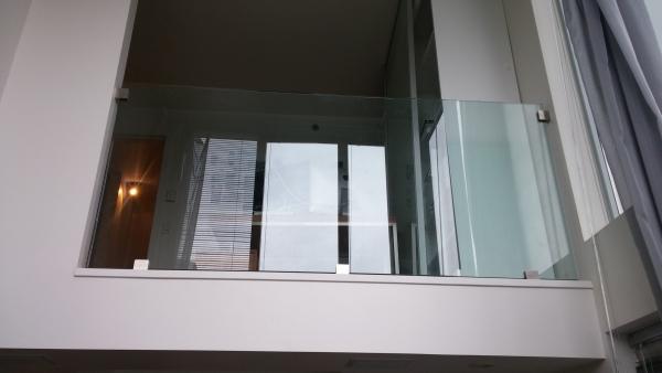 Interior Frameless Glass Railings